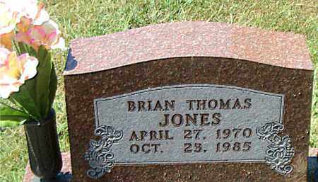 JONES, BRIAN  THOMAS - Boone County, Arkansas | BRIAN  THOMAS JONES - Arkansas Gravestone Photos