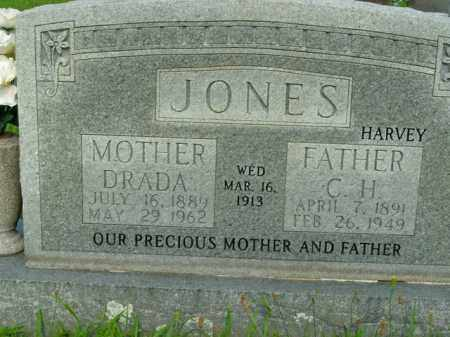 "JONES, C.H. ""HARVEY"" - Boone County, Arkansas 