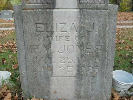 JONES, ELIZA J. - Boone County, Arkansas | ELIZA J. JONES - Arkansas Gravestone Photos