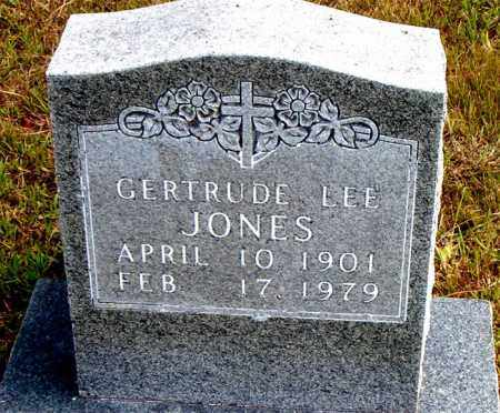 JONES, GERTRUDE  LEE - Boone County, Arkansas | GERTRUDE  LEE JONES - Arkansas Gravestone Photos
