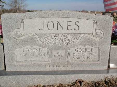 JONES, GEORGE - Boone County, Arkansas | GEORGE JONES - Arkansas Gravestone Photos