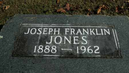 JONES, JOSEPH FRANKLIN - Boone County, Arkansas | JOSEPH FRANKLIN JONES - Arkansas Gravestone Photos
