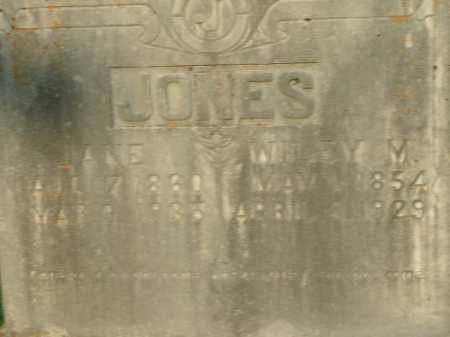 JONES, WILEY M. - Boone County, Arkansas | WILEY M. JONES - Arkansas Gravestone Photos