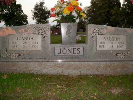 JONES, VAUGHN - Boone County, Arkansas | VAUGHN JONES - Arkansas Gravestone Photos