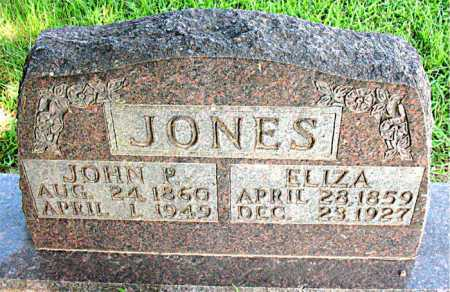 JONES, ELIZA - Boone County, Arkansas | ELIZA JONES - Arkansas Gravestone Photos
