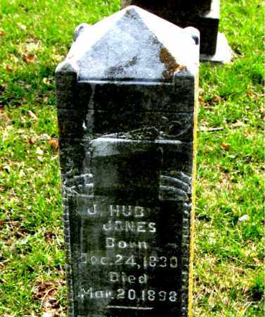 JONES, J. HUB - Boone County, Arkansas | J. HUB JONES - Arkansas Gravestone Photos