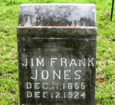 JONES, JIM FRANK - Boone County, Arkansas | JIM FRANK JONES - Arkansas Gravestone Photos