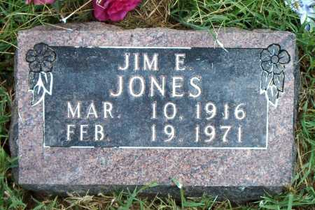 JONES, JIM   E - Boone County, Arkansas | JIM   E JONES - Arkansas Gravestone Photos