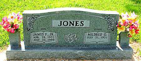 JONES JR, JAMES F. - Boone County, Arkansas | JAMES F. JONES JR - Arkansas Gravestone Photos