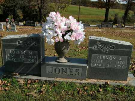 JONES, VERNON A. - Boone County, Arkansas | VERNON A. JONES - Arkansas Gravestone Photos