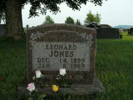 JONES, LEONARD - Boone County, Arkansas | LEONARD JONES - Arkansas Gravestone Photos