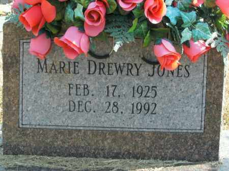 DREWRY JONES, MARIE - Boone County, Arkansas | MARIE DREWRY JONES - Arkansas Gravestone Photos
