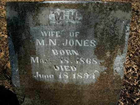 JONES, M.H. - Boone County, Arkansas | M.H. JONES - Arkansas Gravestone Photos