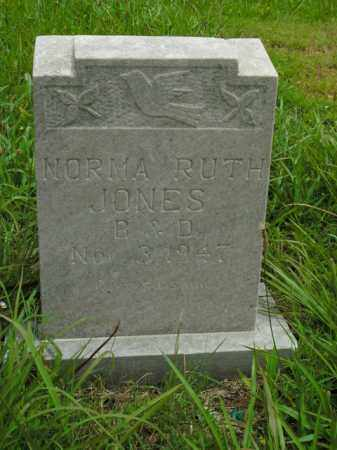 JONES, NORMA RUTH - Boone County, Arkansas | NORMA RUTH JONES - Arkansas Gravestone Photos