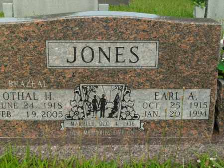 JONES, EARL A. - Boone County, Arkansas | EARL A. JONES - Arkansas Gravestone Photos
