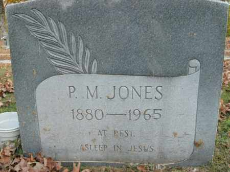 JONES, P.M. - Boone County, Arkansas | P.M. JONES - Arkansas Gravestone Photos