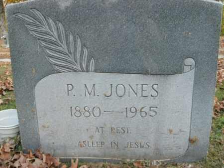 JONES, P.M. - Boone County, Arkansas | P.M. JONES - Arkansas Gravestone Photos