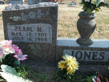 JONES, PEARL M. - Boone County, Arkansas | PEARL M. JONES - Arkansas Gravestone Photos