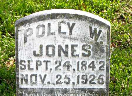 JONES, POLLY  W. - Boone County, Arkansas | POLLY  W. JONES - Arkansas Gravestone Photos
