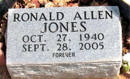 JONES, RONALD ALLEN - Boone County, Arkansas | RONALD ALLEN JONES - Arkansas Gravestone Photos