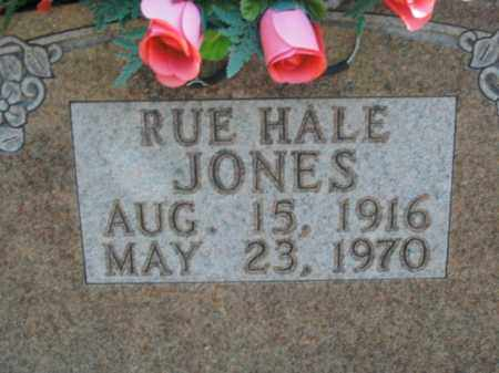JONES, RUE HALE - Boone County, Arkansas | RUE HALE JONES - Arkansas Gravestone Photos