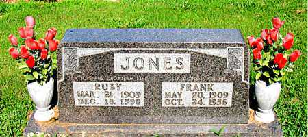 JONES, RUBY - Boone County, Arkansas | RUBY JONES - Arkansas Gravestone Photos