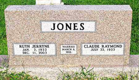 JONES, RUTH JERRYNE - Boone County, Arkansas | RUTH JERRYNE JONES - Arkansas Gravestone Photos