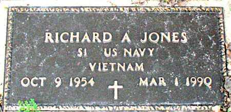 JONES  (VETERAN VIET), RICHARD A - Boone County, Arkansas | RICHARD A JONES  (VETERAN VIET) - Arkansas Gravestone Photos