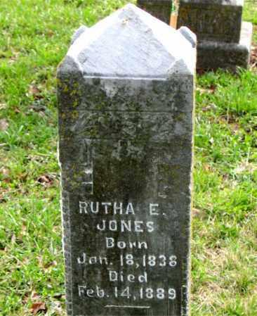 JONES, RUTHA  E. - Boone County, Arkansas | RUTHA  E. JONES - Arkansas Gravestone Photos