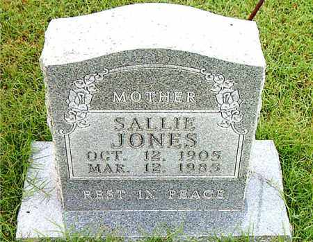 JONES, SALLIE - Boone County, Arkansas | SALLIE JONES - Arkansas Gravestone Photos