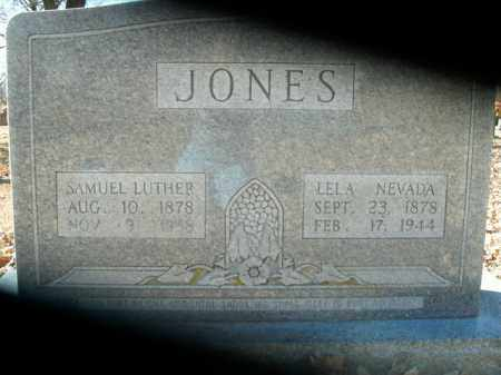 JONES, LELA NEVADA - Boone County, Arkansas | LELA NEVADA JONES - Arkansas Gravestone Photos
