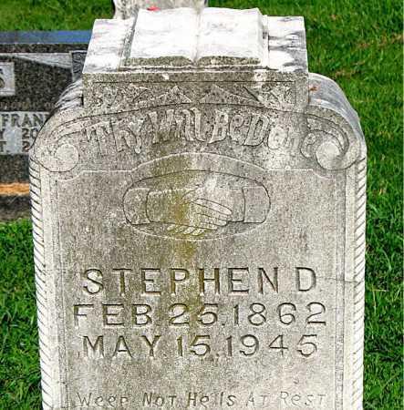 JONES, STEPHEN D. - Boone County, Arkansas | STEPHEN D. JONES - Arkansas Gravestone Photos