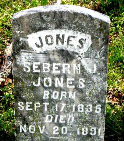 JONES, SEBERN J. - Boone County, Arkansas | SEBERN J. JONES - Arkansas Gravestone Photos