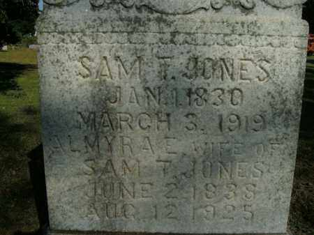JONES, SAM T. - Boone County, Arkansas | SAM T. JONES - Arkansas Gravestone Photos
