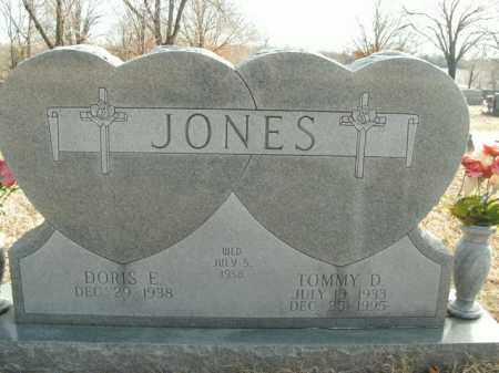 JONES, TOMMY D. - Boone County, Arkansas | TOMMY D. JONES - Arkansas Gravestone Photos
