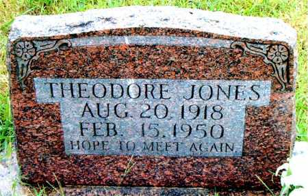 JONES, THEODORE - Boone County, Arkansas | THEODORE JONES - Arkansas Gravestone Photos
