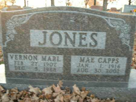 JONES, MAE - Boone County, Arkansas | MAE JONES - Arkansas Gravestone Photos
