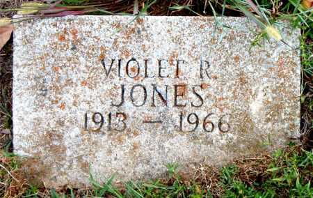 JONES, VIOLET  R - Boone County, Arkansas | VIOLET  R JONES - Arkansas Gravestone Photos