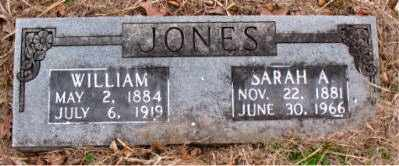 JONES, SARAH  A. - Boone County, Arkansas | SARAH  A. JONES - Arkansas Gravestone Photos