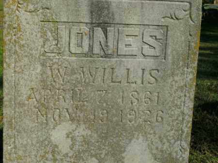 JONES, W. WILLIS - Boone County, Arkansas | W. WILLIS JONES - Arkansas Gravestone Photos