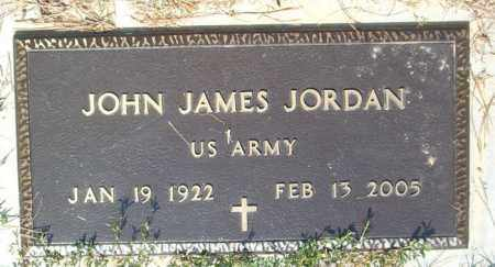 JORDAN  (VETERAN), JOHN JAMES - Boone County, Arkansas | JOHN JAMES JORDAN  (VETERAN) - Arkansas Gravestone Photos