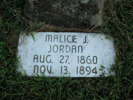 JORDAN, MALICIE J. - Boone County, Arkansas | MALICIE J. JORDAN - Arkansas Gravestone Photos