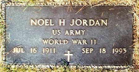 JORDAN  (VETERAN WWII), NOEL H. - Boone County, Arkansas | NOEL H. JORDAN  (VETERAN WWII) - Arkansas Gravestone Photos