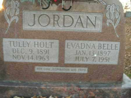 JORDAN, TULLY HOLT - Boone County, Arkansas | TULLY HOLT JORDAN - Arkansas Gravestone Photos