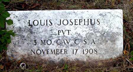 JOSEPHUS  (VETERAN CSA), LOUIS - Boone County, Arkansas | LOUIS JOSEPHUS  (VETERAN CSA) - Arkansas Gravestone Photos