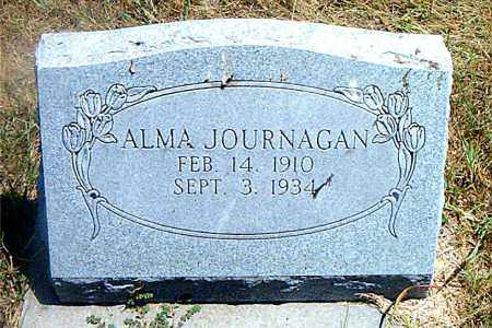 JOURNAGAN, ALMA - Boone County, Arkansas | ALMA JOURNAGAN - Arkansas Gravestone Photos