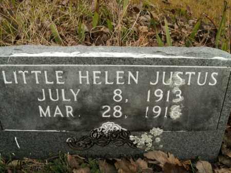 JUSTUS, HELEN - Boone County, Arkansas | HELEN JUSTUS - Arkansas Gravestone Photos