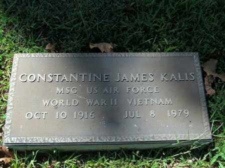 KALIS  (VETERAN 2 WARS), CONSTANTINE JAMES - Boone County, Arkansas | CONSTANTINE JAMES KALIS  (VETERAN 2 WARS) - Arkansas Gravestone Photos