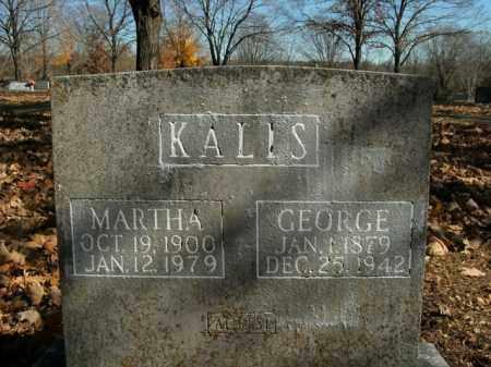 KALIS, MARTHA - Boone County, Arkansas | MARTHA KALIS - Arkansas Gravestone Photos