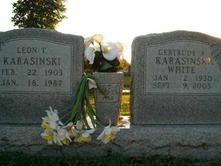 KARASINSKI, LEON T. - Boone County, Arkansas | LEON T. KARASINSKI - Arkansas Gravestone Photos